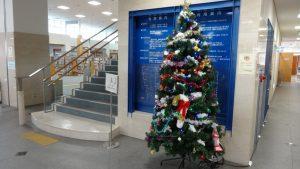 クリスマスツリー(正面入口)